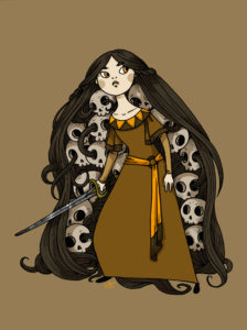 baba_yaga_and_the_skulls_of_her_enemies_by_secondlina-d63rkgr
